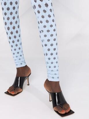 MAISIE WILEN Cut Out-Detail Leggings
