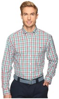Vineyard Vines Winterberry Check Classic Tucker Shirt