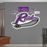 Fathead Mount Union Purple Raiders Wall Decals