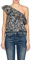 Etoile Isabel Marant Women's Thom Linen One-Shoulder Top