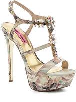 Betsey Johnson Noblee Jeweled Dress Sandals