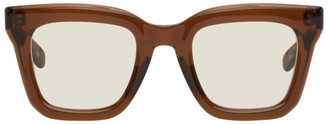 Sacai Brown Native Sons Edition Cornell Sunglasses