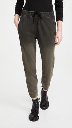 James Perse Spray Dye Fleece Pull On Sweat Pants