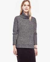 Ann Taylor Hi-Lo Turtleneck Sweater