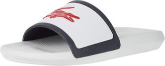Lacoste Men's Croco Slide TRI3 CMA Sandal
