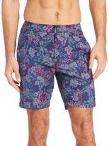 "Onia Calder 7.5"" Italian Floral-Print Swim Trunks"