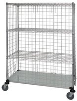 Omega 5 Tier 3 Sided Wire and Solid Shelf Truck
