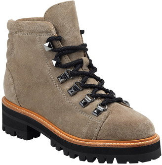Marc Fisher Issy Leather Hiker Boot