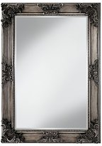 George French Style Ornate Mirror - Silver