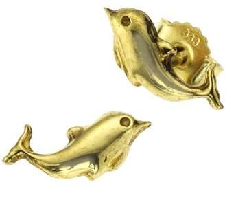Salé 221320199XX Unisex 8ct Yellow Gold Stud Earrings