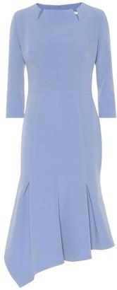 Safiyaa Noelle crepe midi dress
