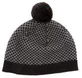 Bonpoint Girls' Knit Pom-Pom Beanie