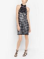 Michael Kors Fringed Sequined Dress