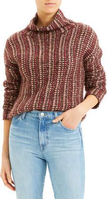 Theory Inlay Turtleneck Sweater