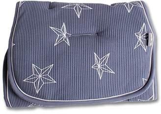 Minene Reversible Pushchair Liner, Blue with Stars