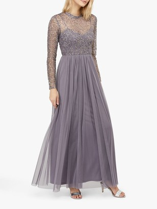 Monsoon Otta Maxi Dress, Grey
