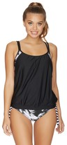 Next Lush Palm Double Up Tankini Top