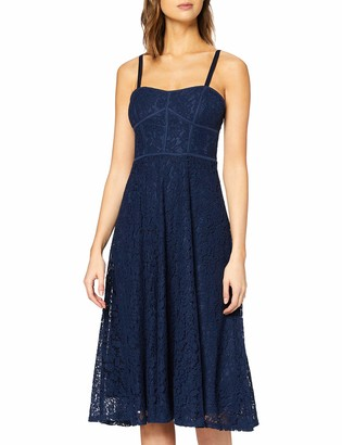 New Look Women's GO EC WIDE STRAP LACE PROM DRE Casual Dress