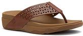 FitFlop Women's Leather Lattice Surfa