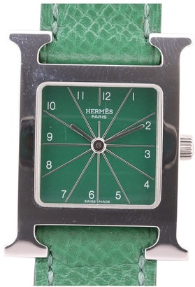 Hermã ̈S HermAs Heure H Green Steel Watches