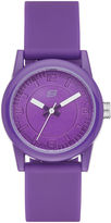 Skechers Womens Purple Dial Purple Silicone Strap Analog Watch