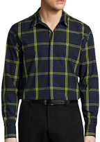 Jf J.Ferrar JF Long-Sleeve Woven Dress Shirt