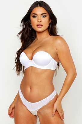 boohoo Super Push Up Strapless Bra