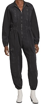 AGOLDE Marin Cotton Flight Jumpsuit