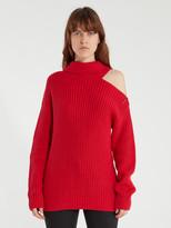 Sepulveda Cold Shoulder Turtleneck Sweater