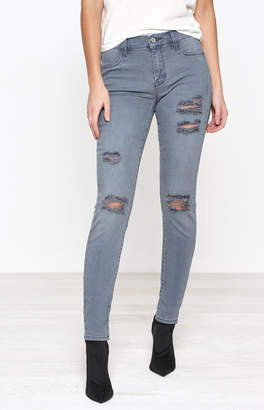 Pacsun PacSun Slate Gray Perfect Fit Jeggings