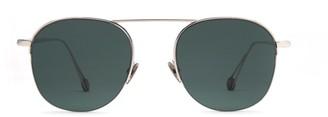 AHLEM Place Saint Sulpice White Gold Sunglasses
