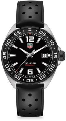 Tag Heuer Formula 1 41MM Stainless Steel & Rubber Strap Quartz Watch