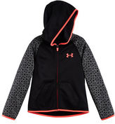 Under Armour Girls 2-6x Colorblocked Hooded Jacket