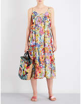 Stella McCartney Floral-print cotton and silk-blend dress