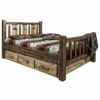 Loon Peak Abella Solid Wood Storage Platform Bed Size: Twin