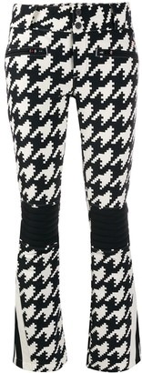 Perfect Moment Houndstooth Flared Trousers