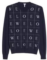 Loewe Letters Wool Sweater