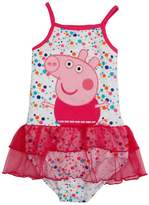 Tiful Peppa Pig Little Girls Summer Dot Cotton Swimsuits
