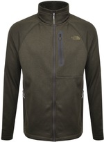 The North Face Canyonland Full Zip Jumper Green