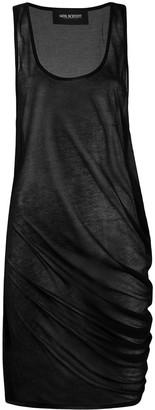 Neil Barrett Sheer Sleeveless Dress