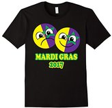 Mardi Gras 2017 TShirt Emoji Masks Fun Kids Boys Girls