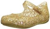 Mini Melissa CA Ballet Mary Jane (Toddler), Gold Glitter, 9 M US Toddler