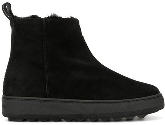 Philippe Model Paris ankle smooth boots