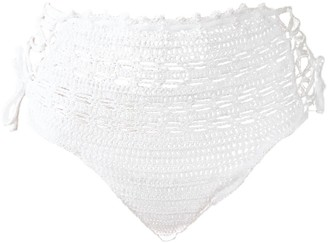 Crokini Swim Zenni Bottoms In White