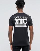 adidas Graphic T-Shirt In Black AZ1021