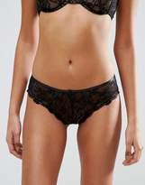 Asos Gianna Lace Hipster Bikini Bottom With Satin Detail