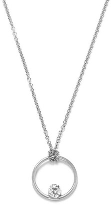 THE ALKEMISTRY 18kt White Gold And Diamond Floating Necklace