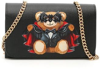 Moschino Bat Teddy Bear Mini Bag