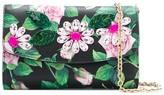 Dolce & Gabbana Tropical Rose crystal-embellished clutch