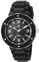 Oceanaut Women's OC0219 Aqua Analog Display Quartz Black Watch